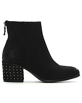 Daniel Moorish Studded Block Ankle Boots