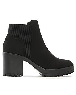DF By Daniel Cotting Platform Ankle Boot