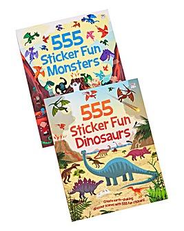 Sticker Fun Books Duo