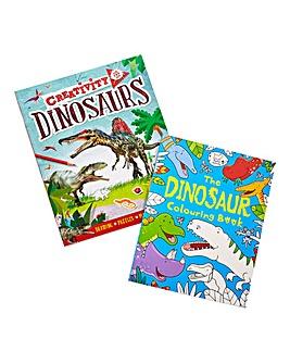 Dinosaur Create and Colour Bundle