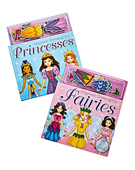 Magnetic Dressing Up Book Duo