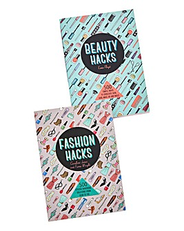 Beauty and Fashion Hacks Twin Pack Books