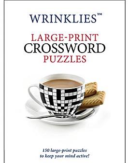 Wrinklies Large Print Crossword Puzzle