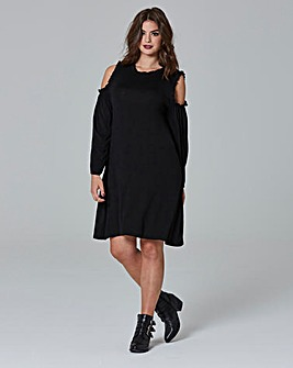 Simply Be Cold Shoulder Dress