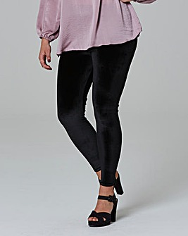Simply Be Velvet Legging