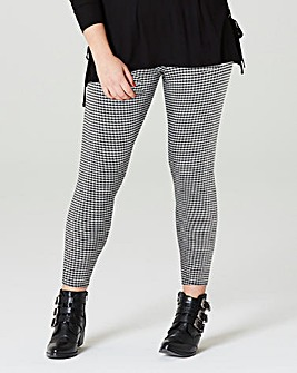 Simply Be Gingham Leggings