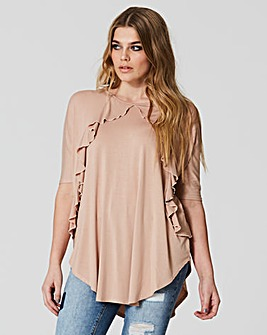 Simply Be Ruffle Oversize Top