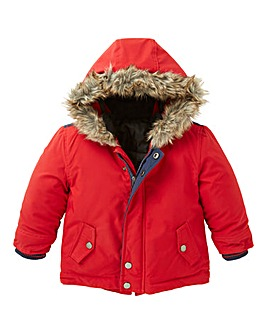 KD Baby Boys Parka Hooded Coat