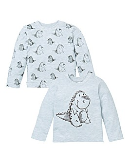 KD Baby Boy Pack of Two DinosaurT-Shirts