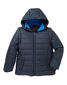 KD Boys Padded Hooded Coat