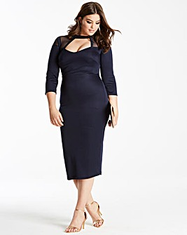 Simply Be by Night Sweetheart Dress