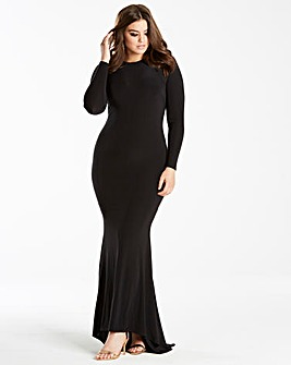 Simply Be by Night Fishtail Maxi Dress