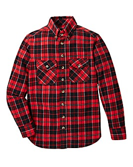 KD Boys Checked Flannel Shirt