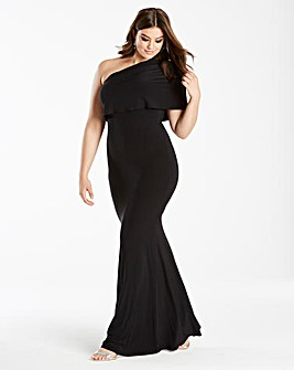 Simply Be by Night One Shoulder Maxi