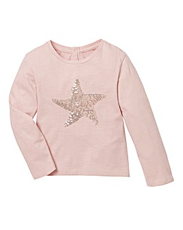 KD Baby Sequin Star T Shirt