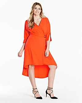 Simply Be Wrap Dress