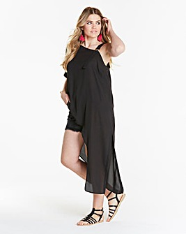 Simply Be Asymmetric One shoulder Tunic