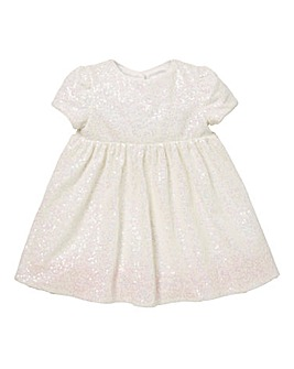 KD Baby Sequin Velour Dress