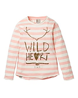 Bench Girls Wild Heart Long-Sleeve Tee
