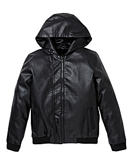 KD Boys PU Bomber Jacket