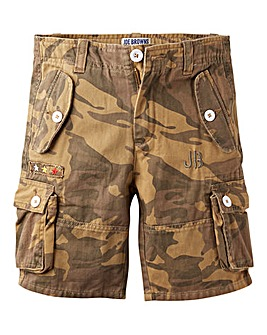 Joe Browns Boys Camo Cargo Shorts