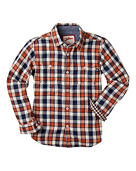 Joe Browns Boys Dual Check Stripe Shirt