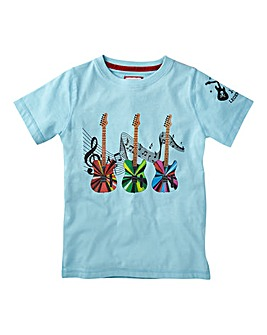 Joe Browns Boys Guitar Print T-Shirt