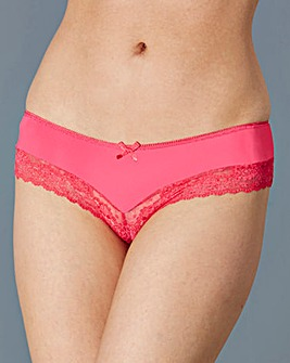 3 Pack Low Rise Brazillian Briefs,Pastel
