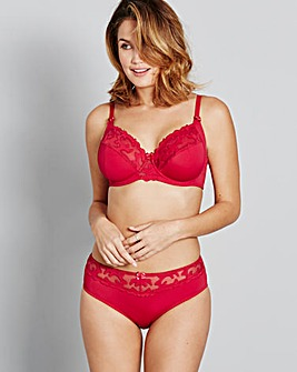 2 Pack Emily Full Cup Red/Pink Bras