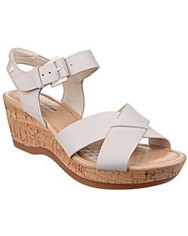 Hush Puppies Eva Farris Wedge Sandals
