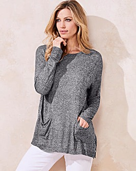 Twist Yarn Boxy Jumper
