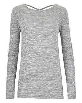 Jumper with Cross Back Detail