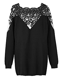 Lace Jumper Christmas Jumper