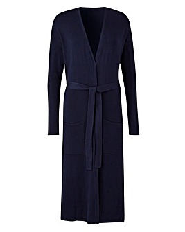 Belted Maxi Cardigan