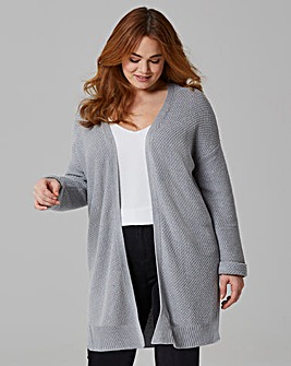 Side Split Cardigan