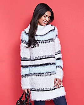 Fluffy Tunic Jumper