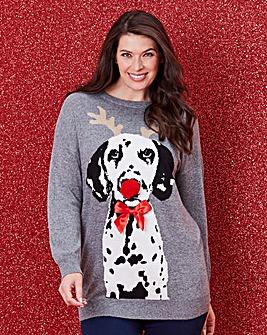 Christmas Dog Jumper