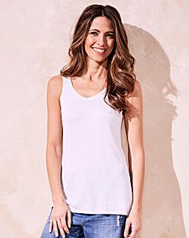 Linen-Mix Vest