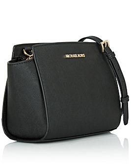 Michael Kors SM Black Messenger Bag
