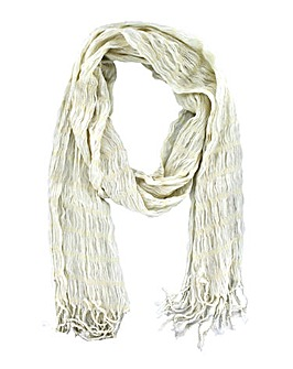 Crinkly Sparkle Scarf
