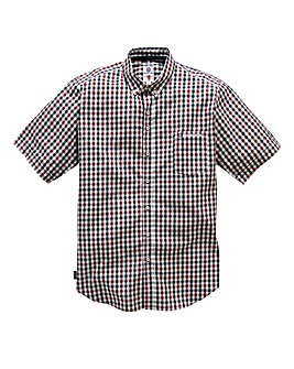 Lambretta Gallows Gingham Shirt Long