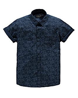 Label J Swallow Print Shirt Long