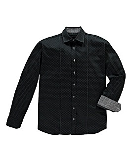 Black Label By Jacamo Trix Shirt Long