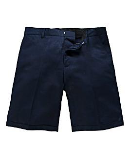 Black Label By Jacamo Linen Mix Shorts