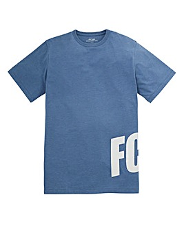 French Connection Blue BTF T-Shirt