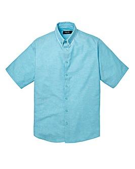 Black Label Linen Mix Granada Shirt Long