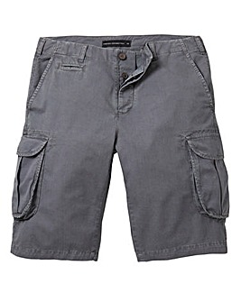 French Connection Charcoal Cargo Shorts