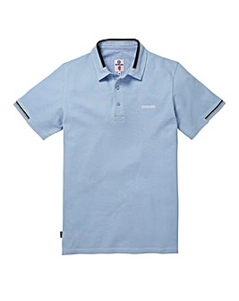 Lambretta Zero Sky Blue Polo Long