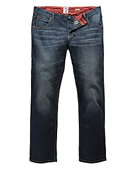 Lambretta Cyrus Dark Wash Jean 33In Leg