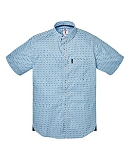 Lambretta Tradition Sky Blue Shirt Reg